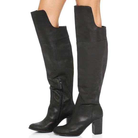 5a046718f2b8 SCHUTZ Shoes | Fullara Over The Knee Boot Black Size 8 | Poshmark